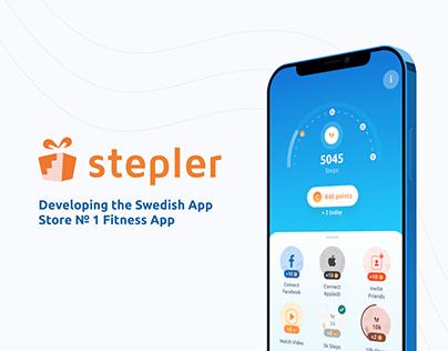 Stepler - #1 Fitness App in the Swedish App Store