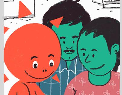 Minigrid Stories - Illustrations