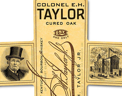 Colonel E.H. Taylor Label Illustrations by Steven Noble