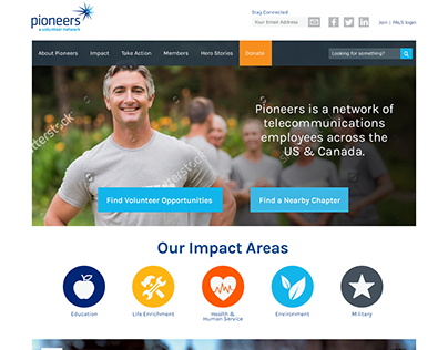 Pioneers Website