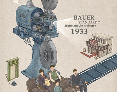 Movie Projector Series, 2013.