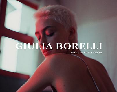 Giulia Borelli on 35mm