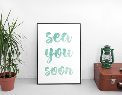 sea you soon - poster
