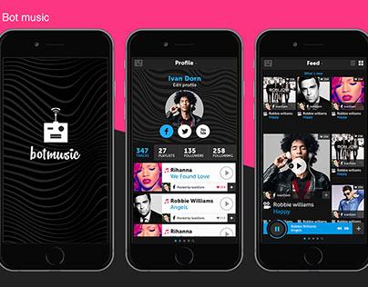 Mobile app | Bot music