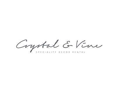Crystal & Vine: Logo & Website