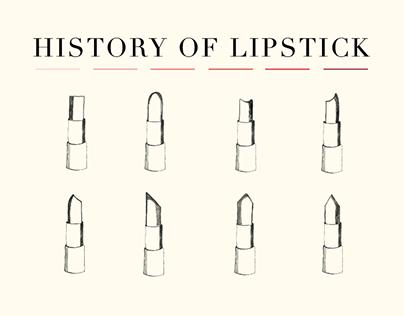 History of Lipstick: Infographic