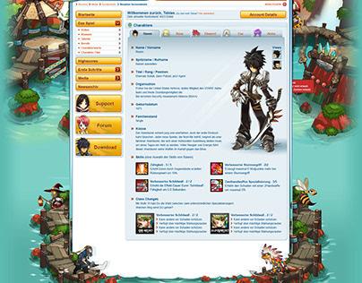 Elsword - Community Page (UX / UI)