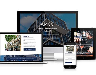 AMCO Website Redesign & Build