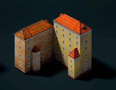 3D isometric models