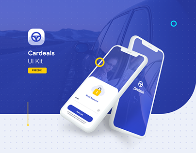 Cardeal App Ui Kit Freebie