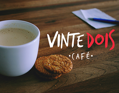 Logotipo Café Vinte Dois