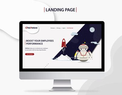 OldRobo Landing Page