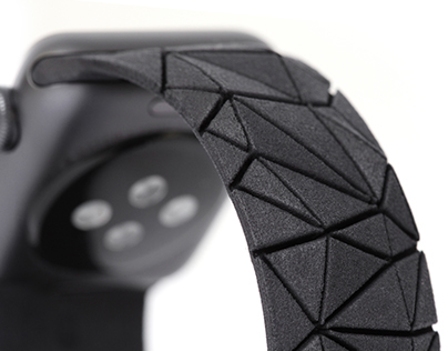 Polygon wrist band for Apple Watch