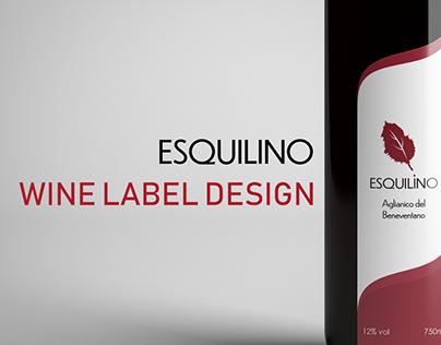 Esquilino | Wine Label Design