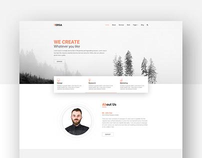 Versa - Corporate Company Website Template