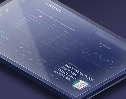 CURRENCY | Dashboard Website Design
