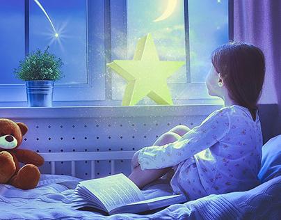 Детский ночник РИСУЙ СВЕТОМ