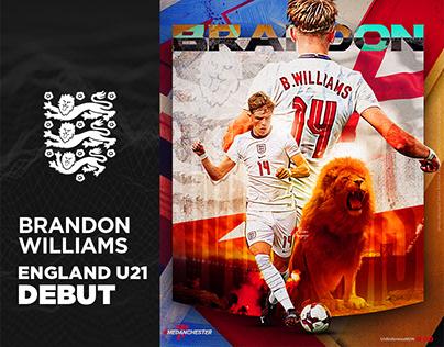 Brandon Williams England U21 Debut