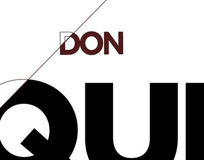 Don Quichote New Cover
