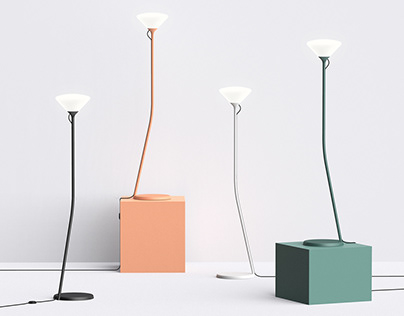 LOOM | Floor & Desk Lamp Family