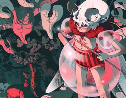 Forest Fairy - illustration