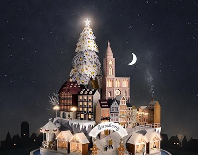 Strasbourg Christmas Campaign