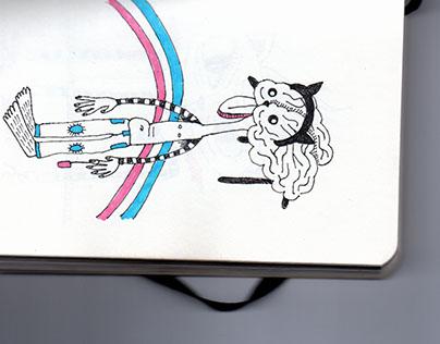The Sketchbook of Monsters