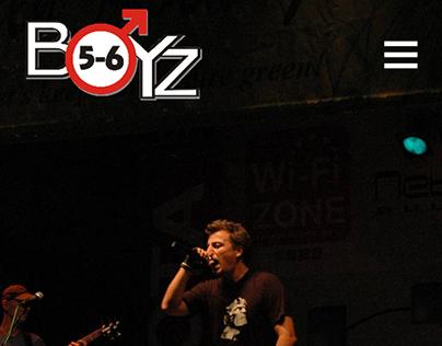 5-6 BoyZ webpage