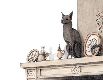 THE BLACK CAT - IL GATTO NERO Edgar Allan Poe