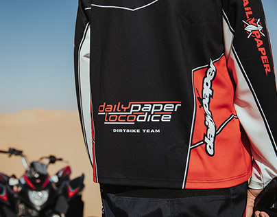 Daily Paper x Loco Dice: Motocross Team
