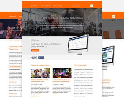 Facelift GmbH- Corporate Website