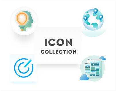 Icon Collection. Various icons from different projects.