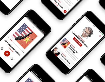 Gabor Steingart — Digital Branding, Podcast & App