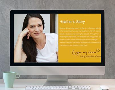 Website Design & Development for Lady Heather Grace