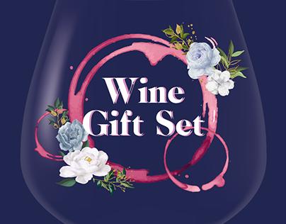 Wine Gift Set banner design