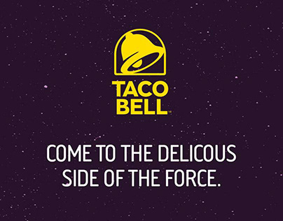 Taco Bell - Delicious Side of The Force