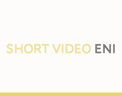 Short video Eni