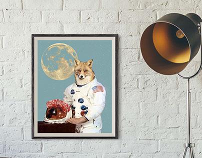 Foxy astronaut