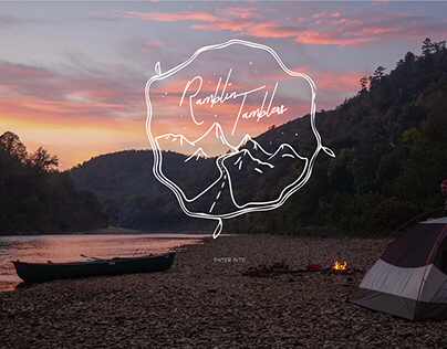 Ramblin Tamblers Website & Logo Design