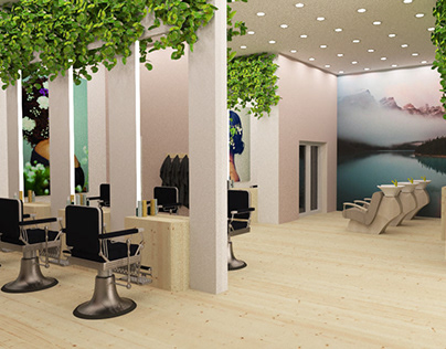Hair salon - Retail Design