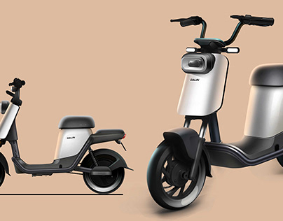 Electric scooter The plane draft 2020