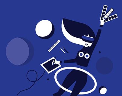 Design Talks | Editorial Illustrations for Medium