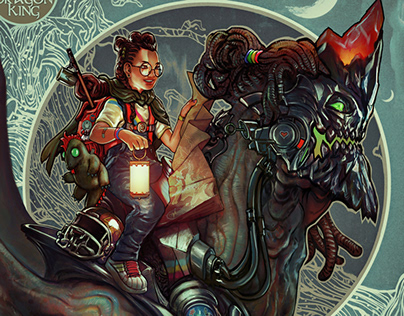 Alma and the Dragon King | Retro MaxPack Promo