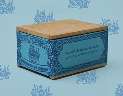 Soap opera   Branding and packaging handmade soap