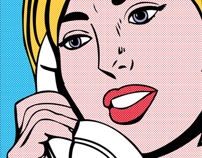 """Pop Art"" Comcast Anti-Satellite Direct Mail"