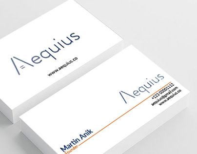 Minimalist Business Card Designs