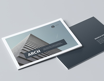 Modern Architecture Brochure 24 Pages A5