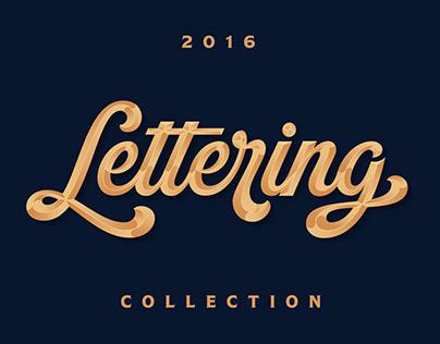 Lettering 2016