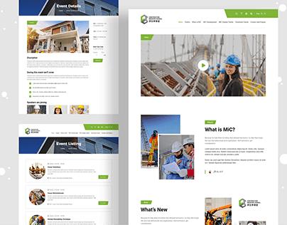 Construction Industry Website