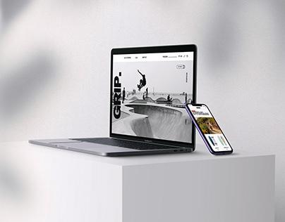 UX/UI Design I Grip. Website & App
